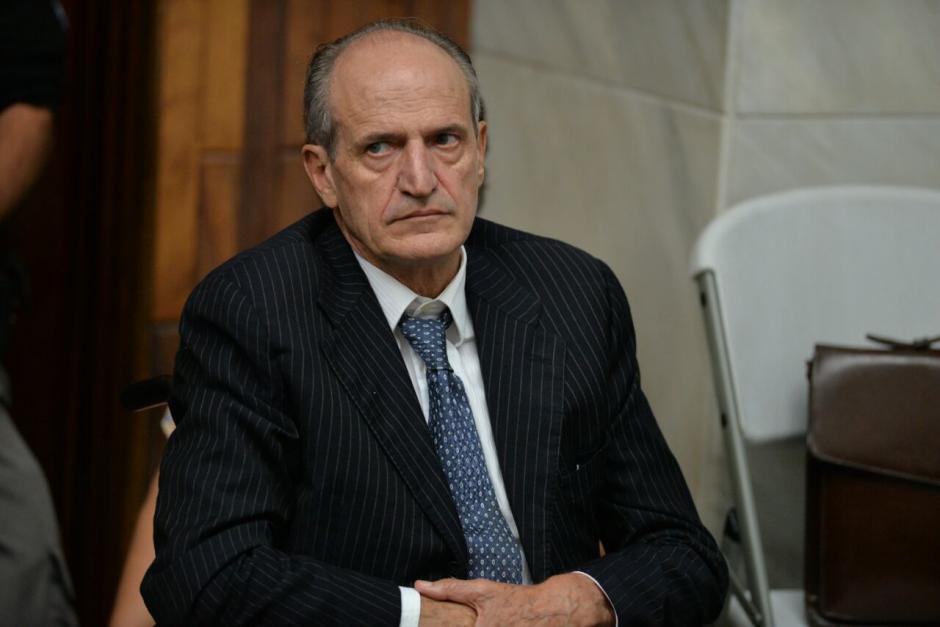 El exgerente general de G&T Continental, Flavio Montenegro durante la jornada 25 de audiencia de primera declaración. (Foto: Wilder López/Soy502)