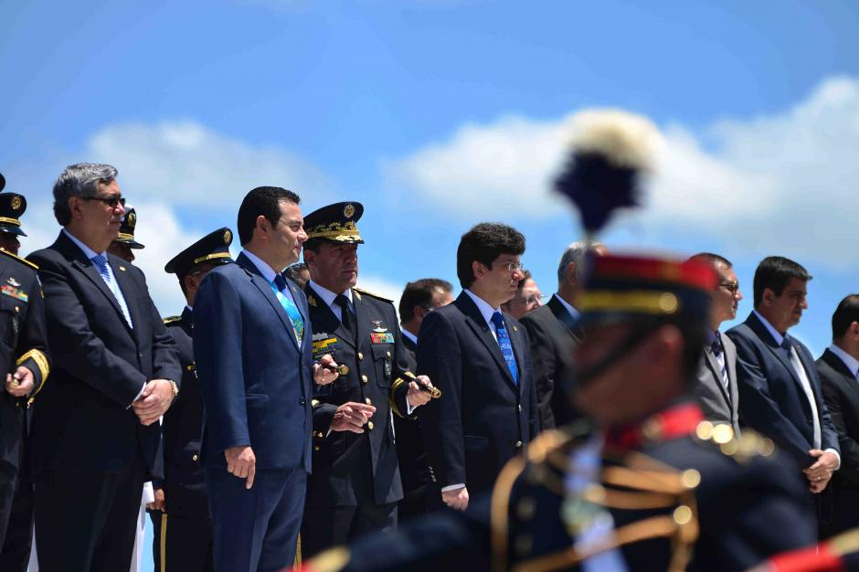 El presidente Morales recordó que el pasado no se puede cambiar refiriéndose al conflicto armado. (Foto: Jesús Alfonso/Soy502)