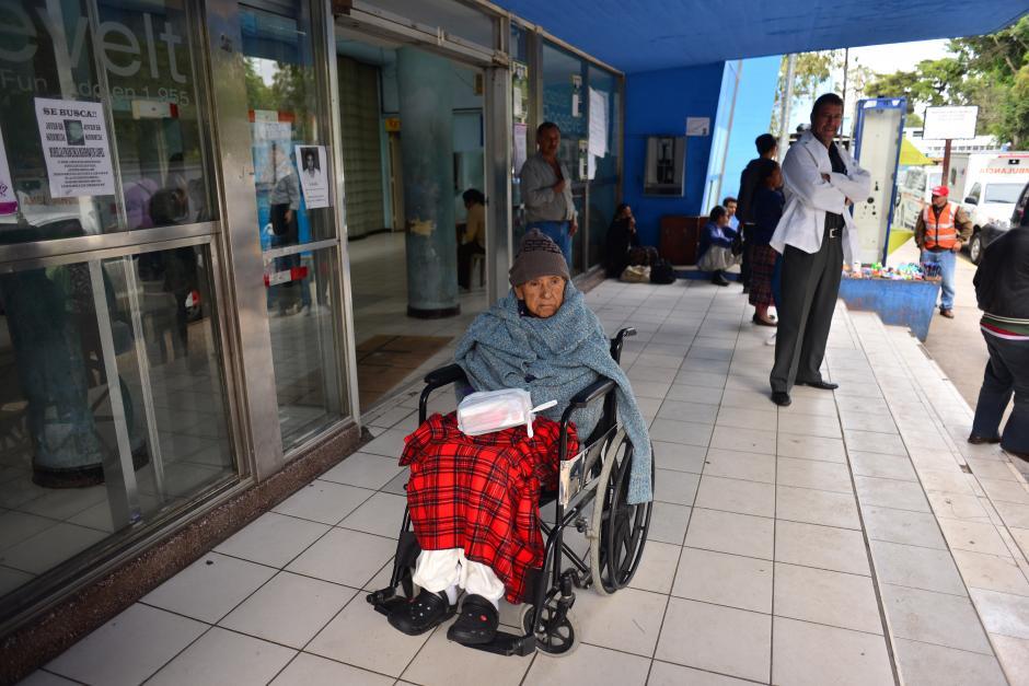 El Hospital Roosevelt continua sin prestar el servicio en su consulta externa. (Foto: Jesús Alfonso/Soy502)