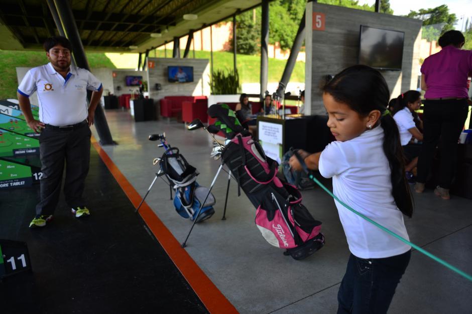 Ashley ganó el tercer lugar de la Gira Infanto Juvenil de Gol del Club Altavista.(Foto: Jesús Alfonso/Soy502)