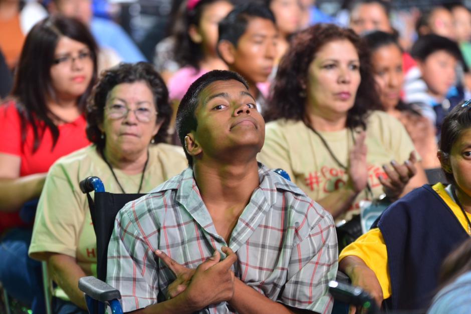 Los pacientes de Fundabiem disfrutaron de la gala que fue apoyada por los artistas nacionales. (Foto Jesús Alfonso/Soy502)