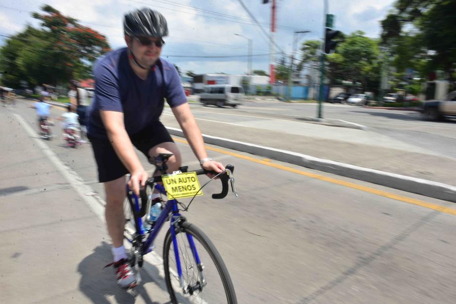 Ciclistas pidieron más conciencia por parte de los conductores. (Foto: Jesús Alfonso/Soy502)