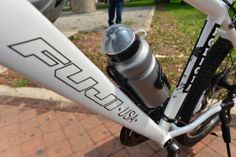 Las bicicletas son sofisticadas y equipadas para estar vigilando a la comunidad. (Foto: Jesús Alfonso/Soy502)