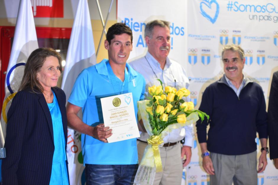 Juan Ignacio Maegli vuelve a casa tras ganar el oro panamericano en navegación a vela. (Foto: Jesús Alfonso/Soy502)