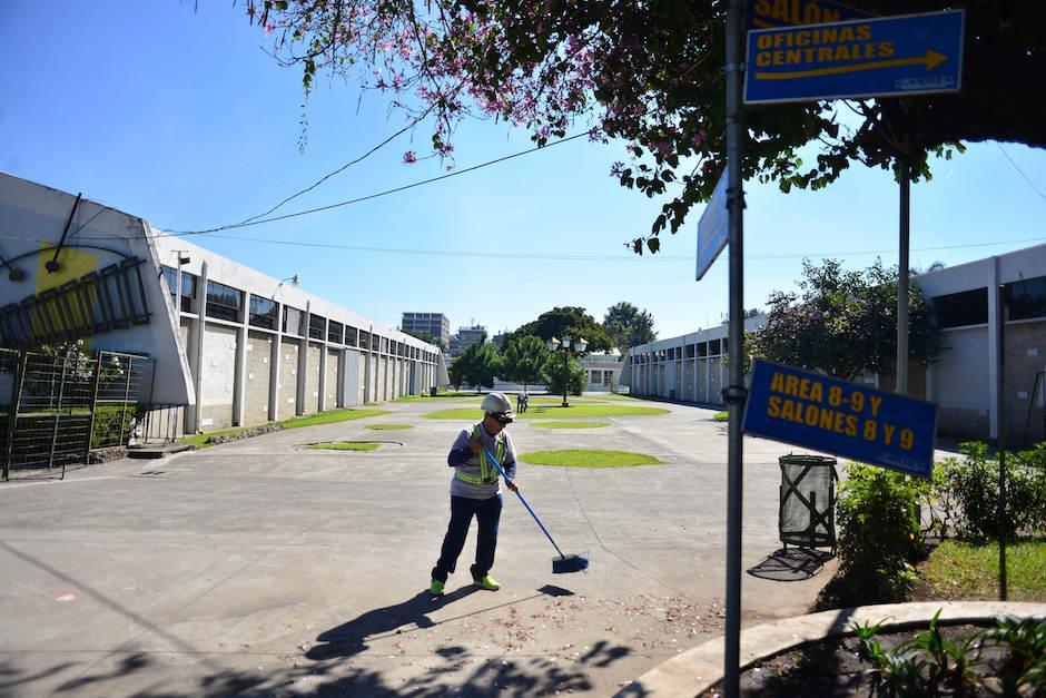 En el Parque de la Industria se realizan 250 eventos al año. (Foto: Jesús Alfonso/Soy502)