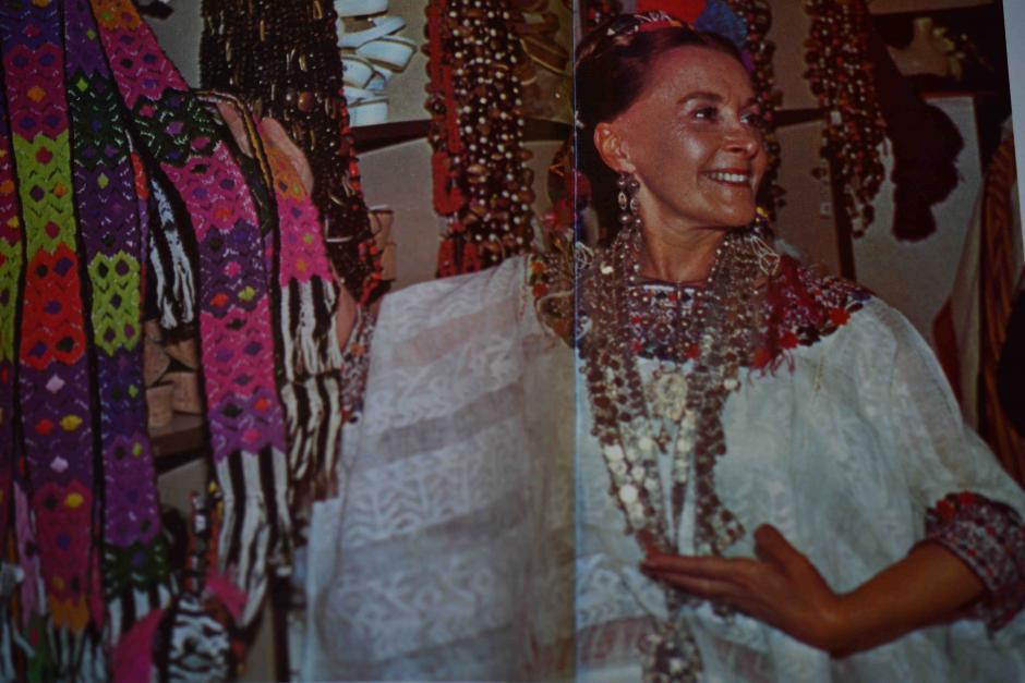 """""""Guatemalan Weavers"""" era el nombre de la tienda de sus padres dentro del parque de Disney. (Foto: Jesús Alfonso/Soy502)"""