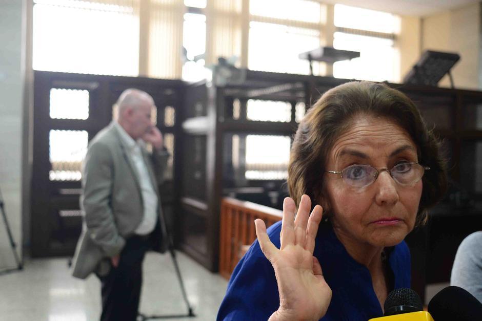 Beatriz Ofelia de León, expresidenta de la CSJ, debe enfrentar juicio por el delito de amenazas en contra de la empleada doméstica Petrona Say. (Foto: Archivo/Soy502)