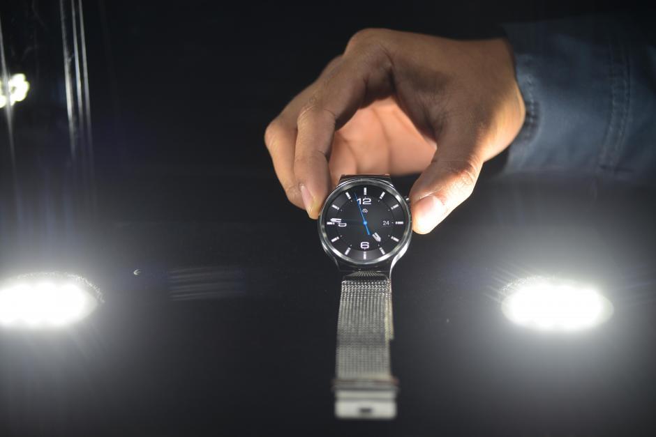El Huawei Watch tiene un elegante acabado.(Foto: Jesús Alfonso/Soy502)