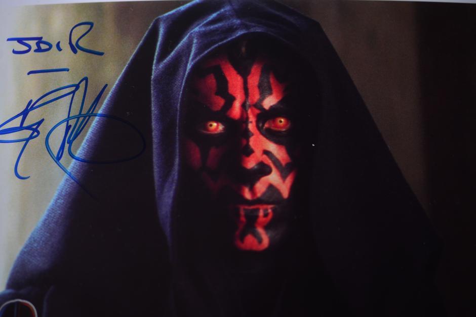 Jair ha visitado diferentes congresos de Star Wars donde pudo conocer a varios personajes. (Foto: Jesús Alfonso/Soy502)