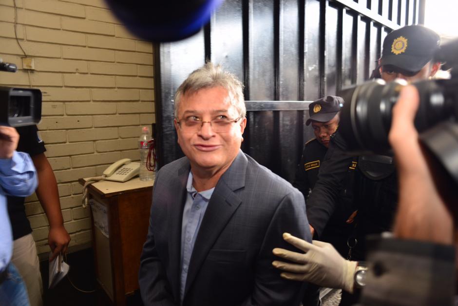 Entre los detenidos, figura Rudy Baldemar Villeda Vanegas, quien dirigió la SAT entre 2008 y 2012. (Foto Jesús Alfonso/Soy502)