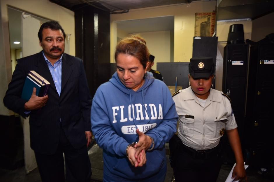 Lidia Lucrecia Roca Morales también ha sido implicada en un caso de tráfico de influencias. (Foto Jesús Alfonso/Soy502)