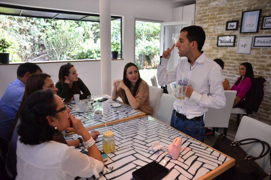 """A José Fernando Martínez le llaman """"Nando"""" con cariño su familia y amigos. (Foto: Jesús Alfonso/Soy502)"""