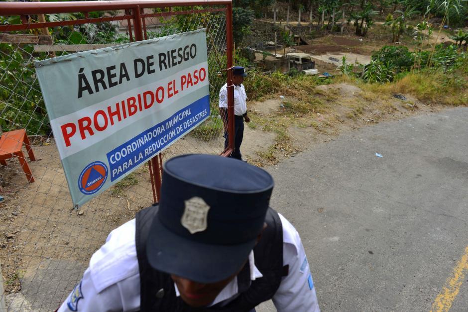 El área tiene vigilancia 24 horas por policías de la municipalidad. (Foto: Jesús Alfonso/Soy502)