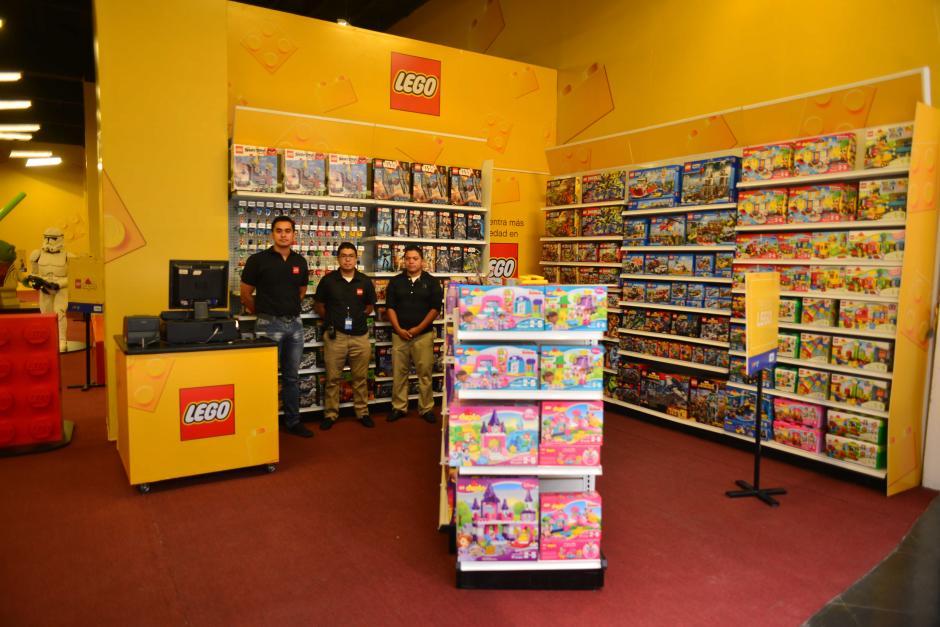 La Zona de Actividades LEGO, con un área  de más de 400 mts, estará disponible por 5 semanas en la Planta Baja del centro comercial. (Foto: Jesús Alfonso/Soy502)