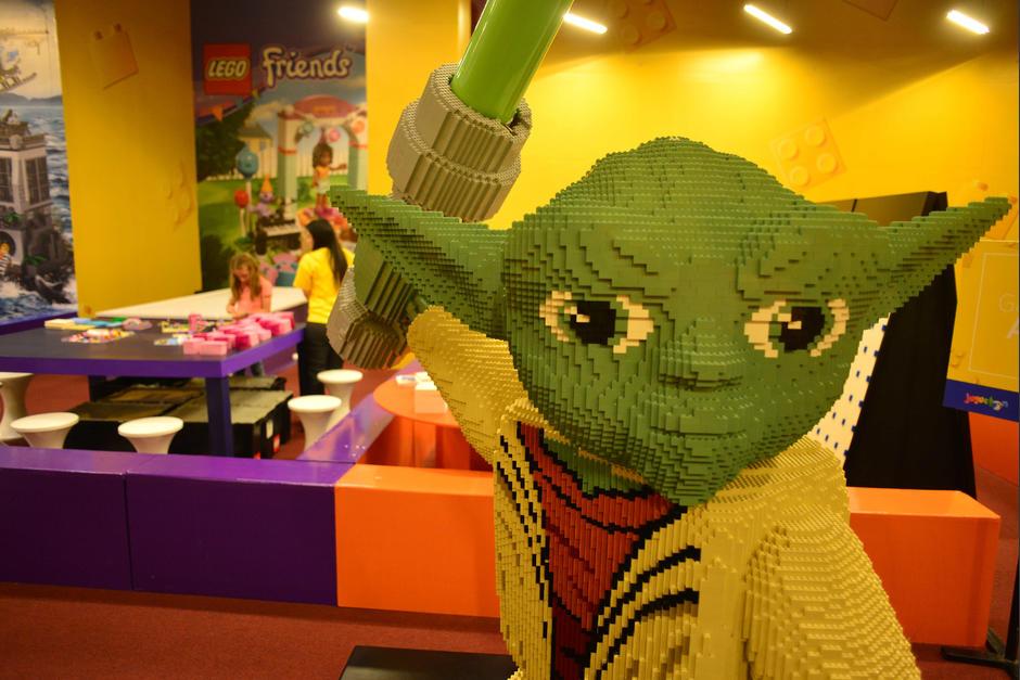 En la Zona de Actividades LEGO se podrá construir lo que deseen con los particulares ladrillos de colores. (Foto: Jesús Alfonso/Soy502)