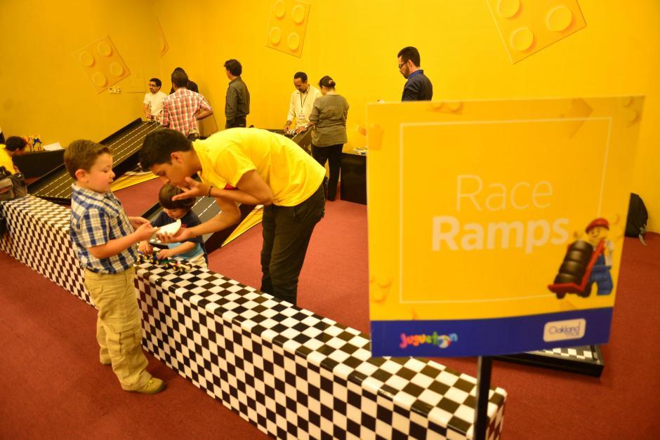 Dentro de la Zona de Actividades  también se contará con exhibición de modelos LEGO. Foto: Jesús Alfonso/Soy502)