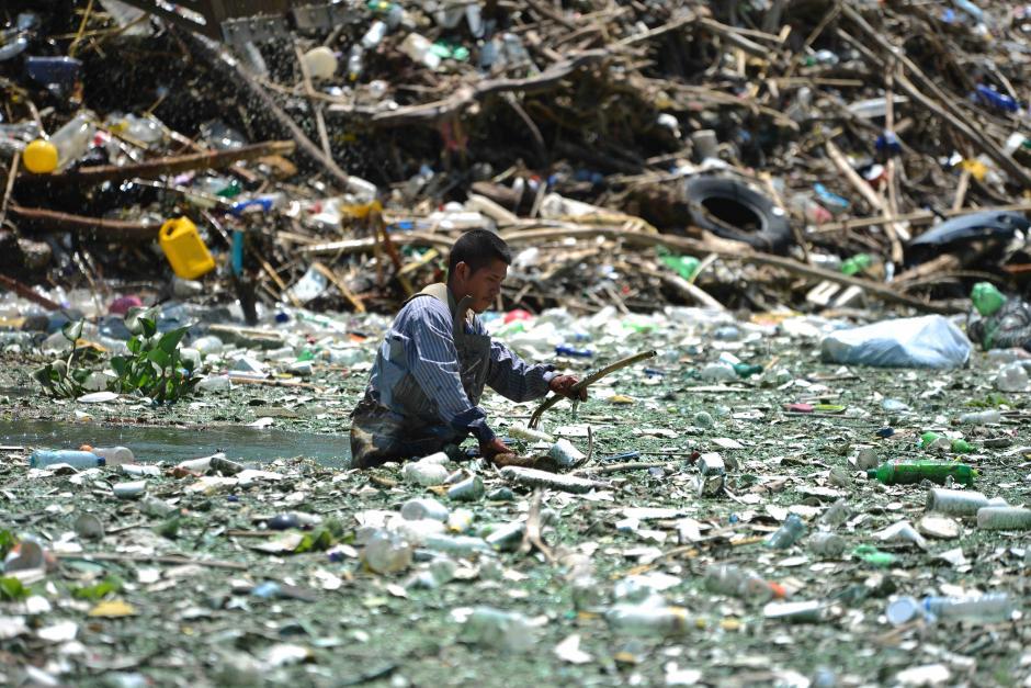 Con la basura extraída en un mes se pueden llenar  3 mil 750 camiones (Foto: Jesús Alfonso/Soy502)