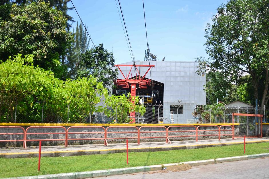 Esta es la vista desde la parte frontal del Teleférico. (Foto: Jesús Alfonso/Soy502)