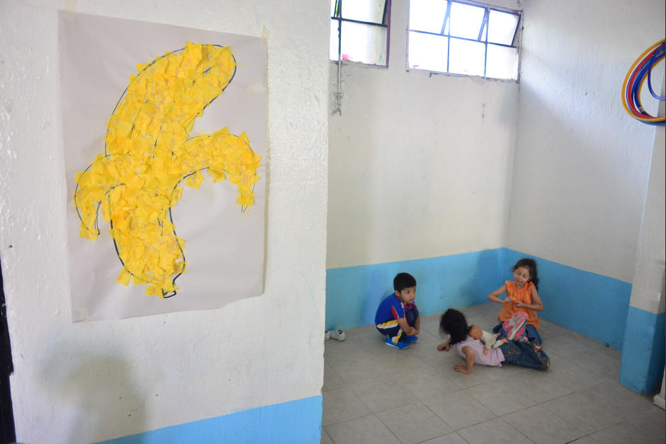 En total, son 40 niños los que reciben clases en esa escuela. (Foto: Jesús Alfonso/Soy502)