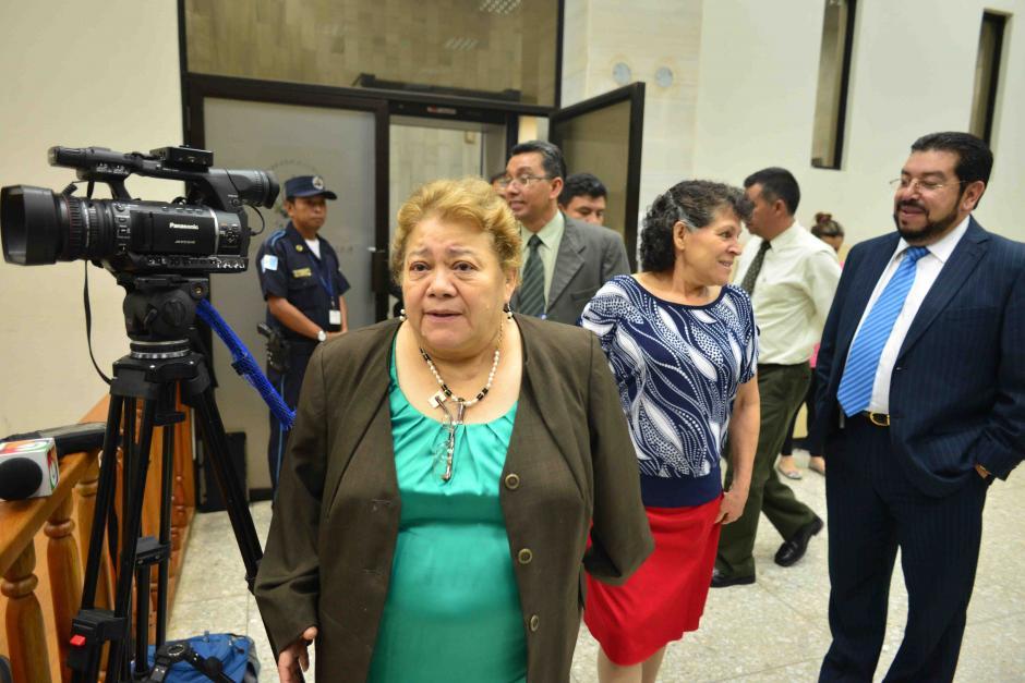 La Jueza Marta Sierra de Stalling recupera su libertad con el pago de una medida sustitutiva de 200 mil quetzales. (Foto: Archivo/Soy502)
