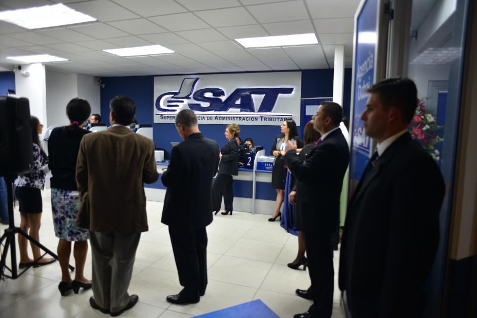 La nueva oficinas atenderá gestiones rápidas. (Foto: Jesús Alfonso/Soy502)