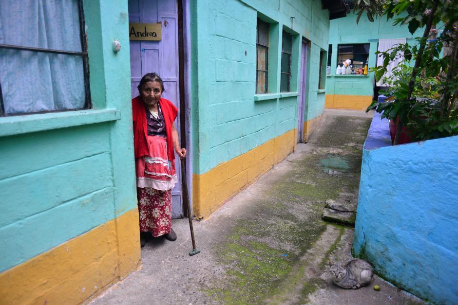 La dirección coincide con un asilo donde viven 10 personas. (Foto: Jesús Alfonso/Soy502)