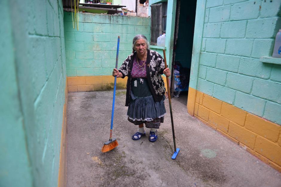 Sin embargo, ellos no han recibido ayuda y se administran con sus propios medios. (Foto: Jesús Alfonso/Soy502)
