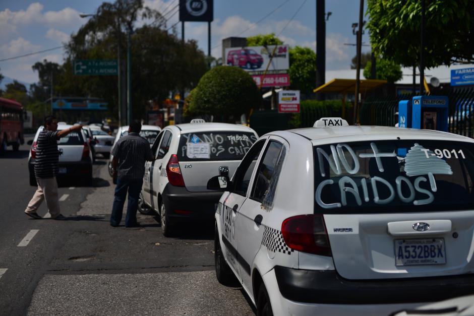 La violencia contra los pilotos fue la principal queja. (Foto: Jesús Alfonso/Soy502)