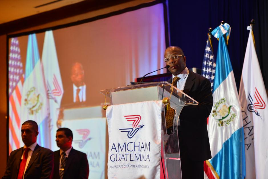 Embajador Todd Robinson remarcó lo importante que es reforzar y trabajar en el occidente del país. (Foto: Jesús Alfonso/Soy502)