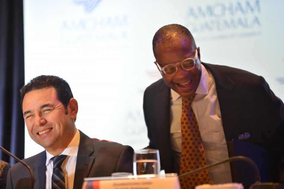 Embajador Todd Robinson adelantó varias misiones comerciales de EE.UU. para este año en Guatemala. (Foto: Jesús Alfonso/Soy502)