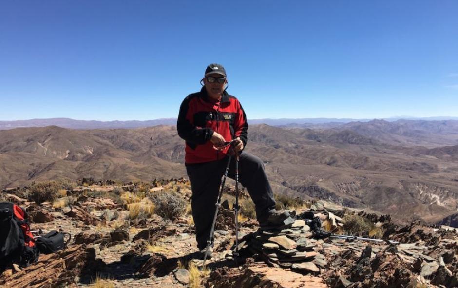 Jaime Viñals continúa con el proyecto de escalar los 10 Volcanes más altos del Mundo. (Foto: Jaime Viñals)