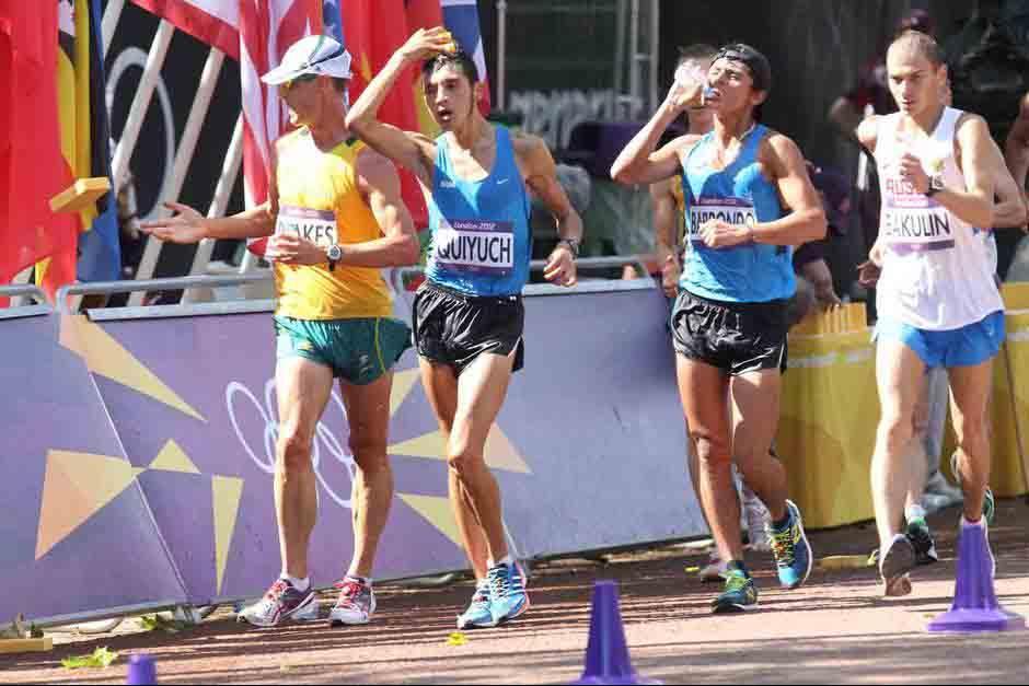 Quiyuch participó en los Juegos Olímpicos de Londres 2012. (Foto: Archivo/soy502)