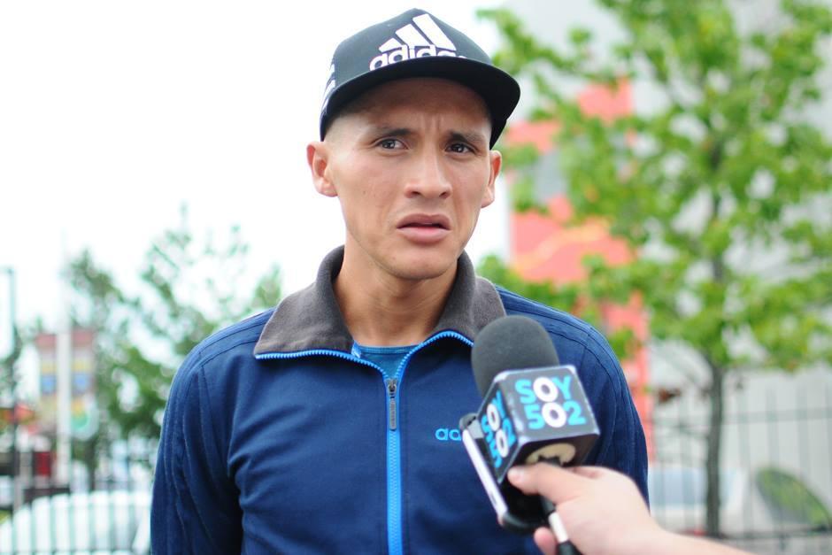 El marchista Jaime Daniel Quiyuch se mostró molesto por los descuentos y no recibió los viáticos del COG. (Foto: Archivo/Soy502)