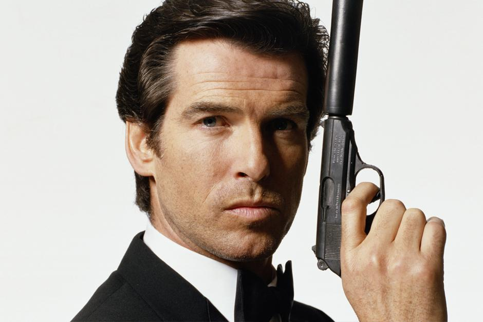 Pierce Brosnan interpretó a James Bond en GoldenEye, Tomorrow Never Dies, The World Is Not Enough y Die Another Day.