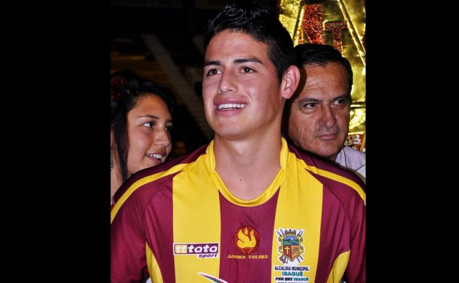 James inició su carrera futbolística muy joven. (Foto: Facebook/James Rodríguez)