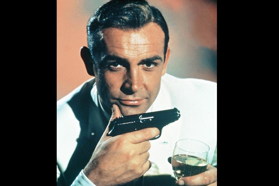 Sean Connery interpretó a James Bond en siete películas entre 1962 y 1983.