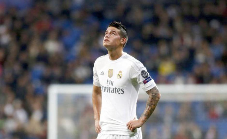 James Rodríguez en el Real Madrid