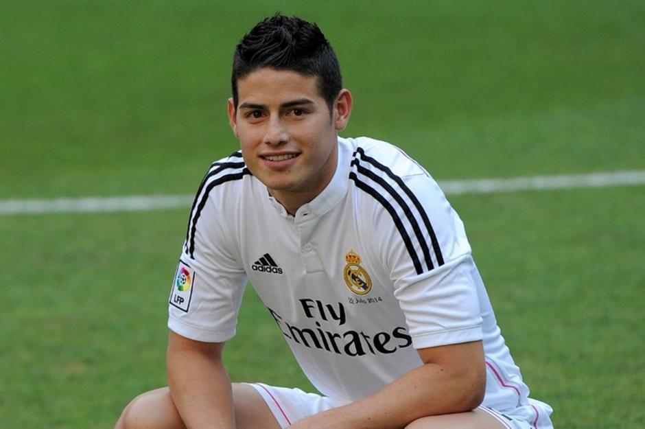 James Rodríguez milita actualmente en el Real Madrid. (Foto: futbolprimera.es)