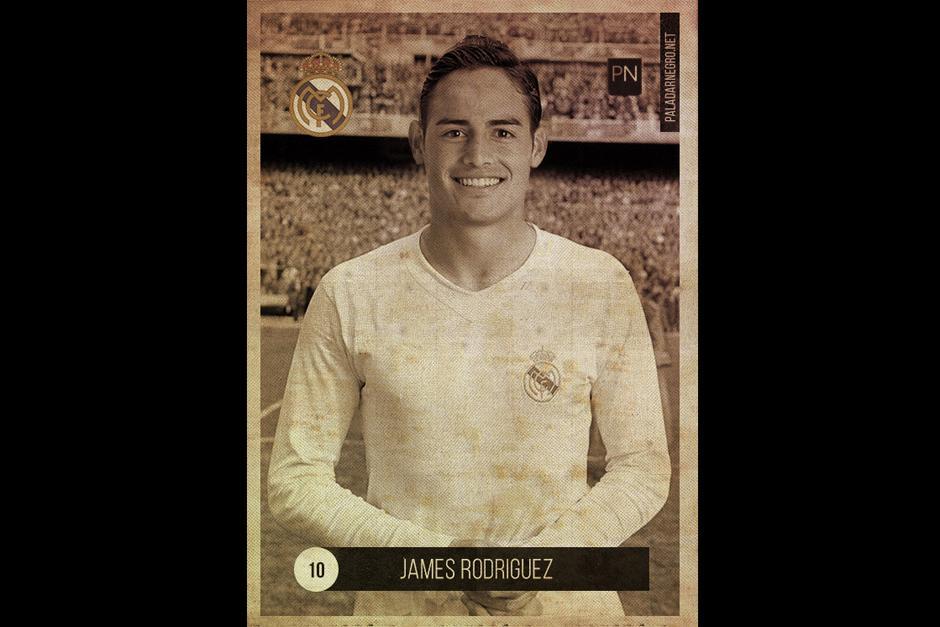 """James Rodríguez no tuvo que cambiar mucho para regresar al pasado y ser un """"crack vintage"""". (Foto: paladarnegro.net)"""