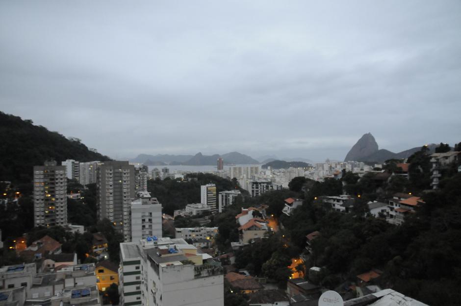 Así cayó la tarde en Río de Janeiro este jueves 28 de julio. (Foto: Pedro Pablo Mijangos/Soy502)