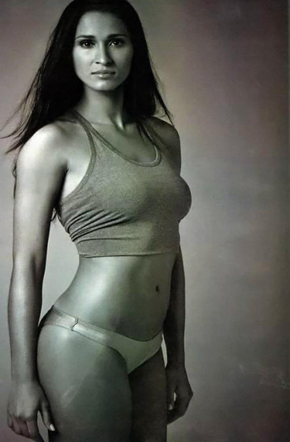 Brasil tiene en Jaqueline Carvalho una sexy representante. (Foto: Twitter)