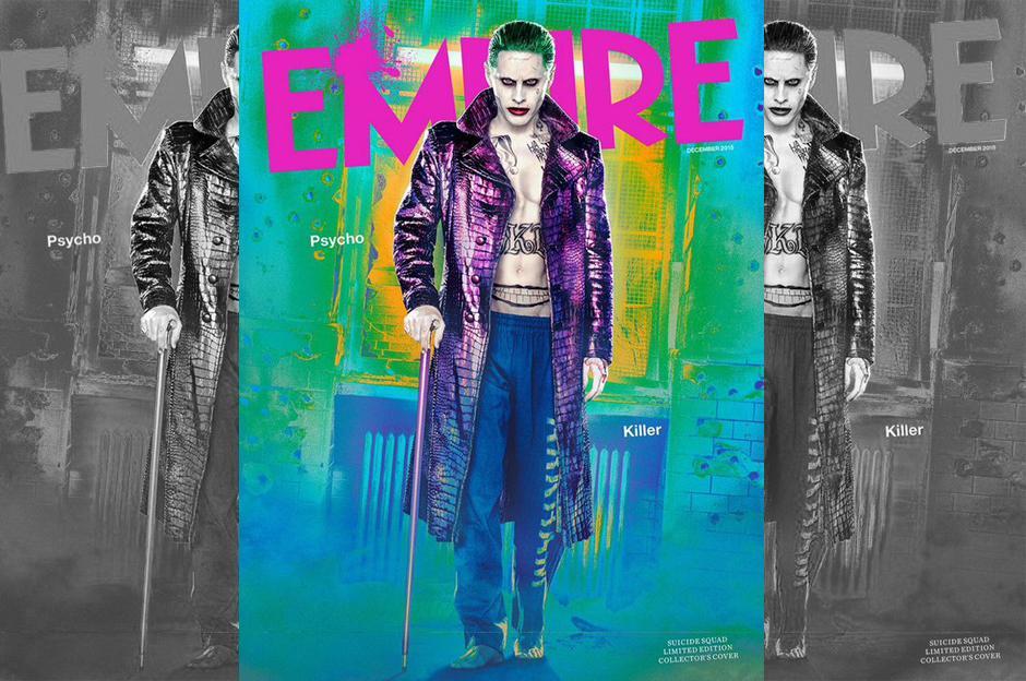 Se han visto algunos pequeñísimos adelantos de Jared Leto y su nuevo rol como el Guasón para Suicide Squad. (Foto: Empire)