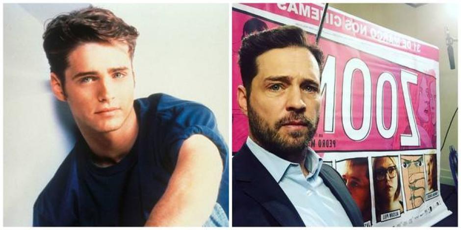 """Jason Priestley era el actor que encarnaba a """"Brandon Walsh. (Foto: El Salvador.com)"""