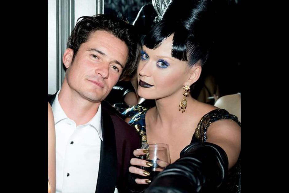 Así posaron Perry y Bloom en un 'after party'. (Foto: Archivo)