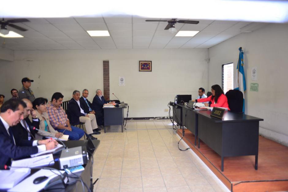 Realizan audiencia de primera declaración por el caso de la muerte de un niño en la piscina del Liceo Javier. (Foto: Jesús Alfonso/Soy502)