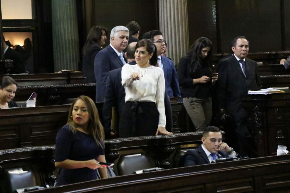 La diputada Patricia Sandoval denunció a su jefe de bancada por acoso. (Foto: Alejandro Balán/Soy502)