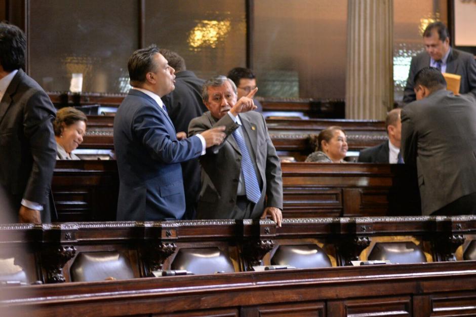 Hernández y Ovalle no han logrado ser los operadores políticos que necesita el FCN. (Foto: Archivo/Soy502)