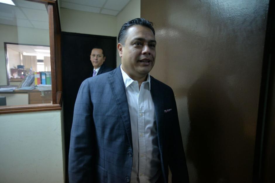El jefe del bloque FCN fue citado por el Ministerio Público. (Foto: Archivo/Soy502)
