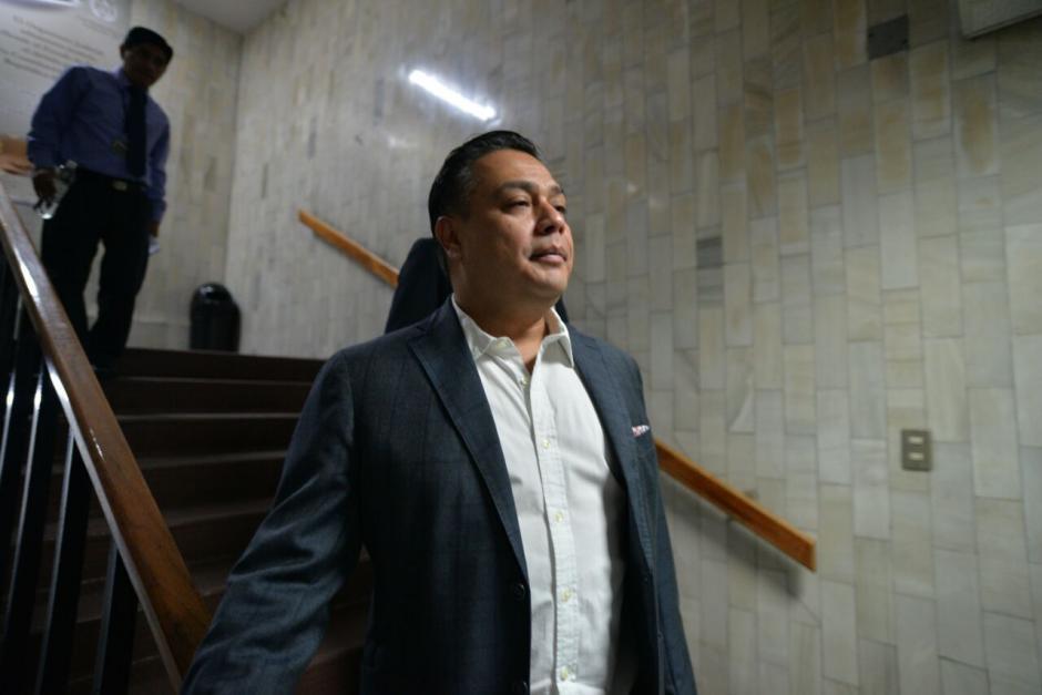 Hernández no brindó detalles de su declaración. (Foto: Wilder López/Soy502)