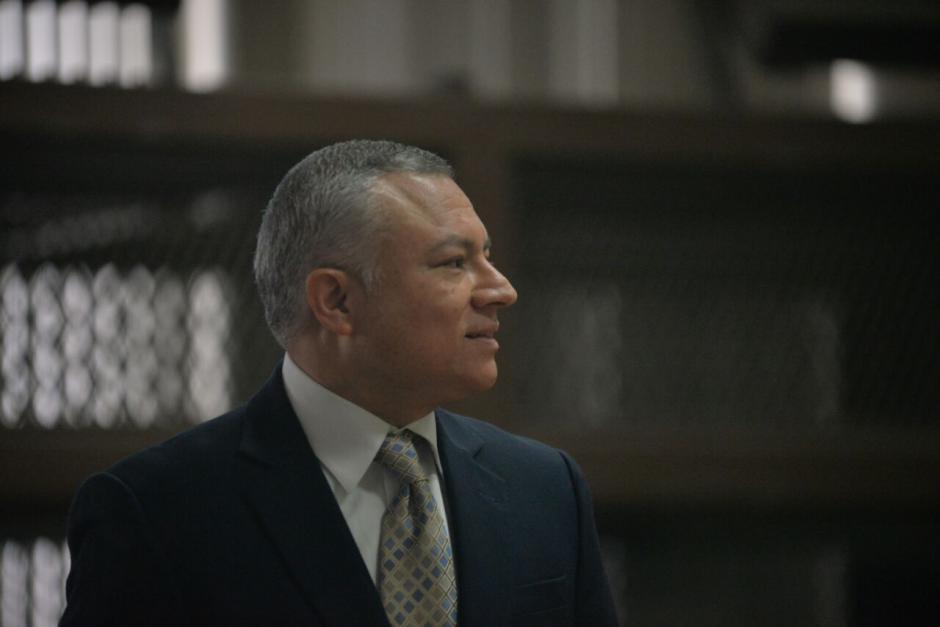 """Salvador Estuardo González alias """"Eco"""" llegó a Tribunales para audiencia. (Foto: Wilder López/Soy502)"""